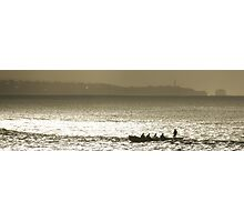 Midwinter Surfboat Training Photographic Print