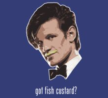 'Got Fish Custard?' (Dr Who) by James Hance