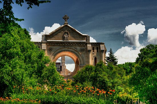 Saint Boniface Cathedral by Larry Trupp