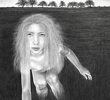 Apparition at Nine (unmasked) by Cynthia Lund Torroll