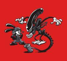 Alien vs Oswald Kids Clothes
