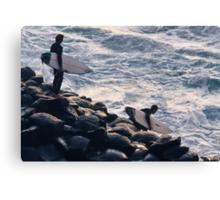 Crazy surfers #2 Canvas Print