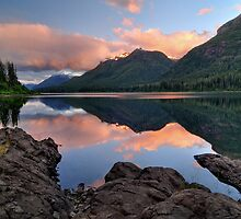 Buttle Lake sunrise by Ron53