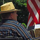 The Accordionist by Kam Johnson