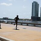 Jacksonville Joggers by Laurie Perry