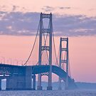 Mackinac Bridge by Maryna Gumenyuk