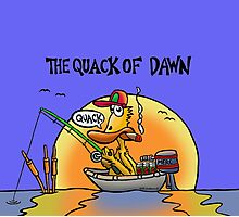 The Quack of Dawn Photographic Print
