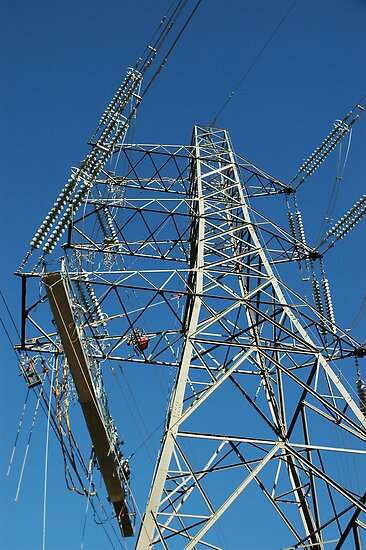 """Tension Tower and Platform c/w Hydraulic Pump"" by Jimmy Deas"