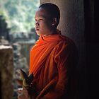 Cambodian Monk 5 by GayeL Art