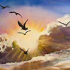 Erupting Sky by Elisabeth Dubois