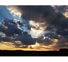 Heavenly Rays Photographic Print