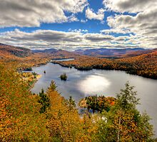 Laurentian Mountains by MIRCEA COSTINA