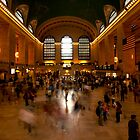 Standing Still - Grand Central Station, New York by Ben Prewett