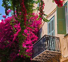 Greece. Nafplio. Balcony. by vadim19