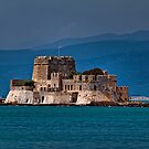 Greece. Nafplio. The castle of Bourtzi. by vadim19