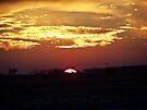 Skies Aflame by Greg Belfrage