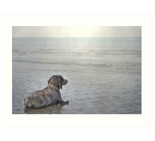 The first time ever I saw the Sea... Art Print