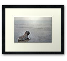 The first time ever I saw the Sea... Framed Print