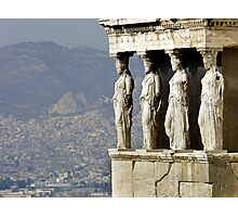 The Porch of the Caryatids of The Erechitheion Photographic Print