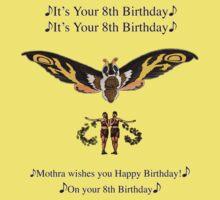 Mothra 8th birthday wish by Troy Dodds
