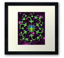 Giardia Bug with Anti-Virus Framed Print