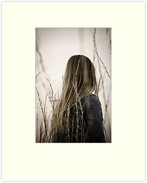 The girl with the flaxen hair by Ulla Jensen