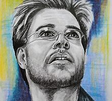 Michael Weatherly by FDugourdCaput