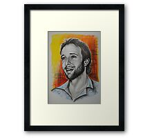 Alex O'Loughlin, featured in The Group Framed Print
