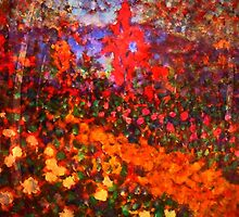 The Fauve Garden by Richard  Tuvey