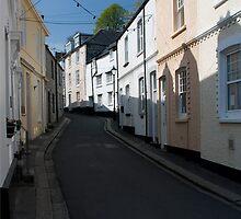 Fowey Street Scene by Rory Underwood