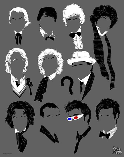 Eleven Doctors Poster by zerobriant