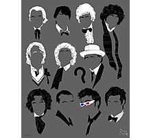 Eleven Doctors Poster Photographic Print