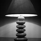 Table Lamp in B&W by Hassan Pasha