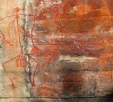 Ubirr Rock - Aboriginal Art by Ann Marie  Barnes