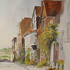 A lane in Rye - East Sussex by Beatrice Cloake