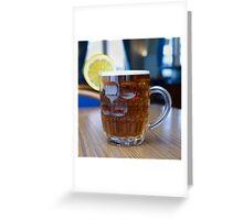Pint of Fruit Greeting Card