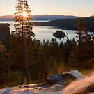 Eagle Falls Emerald Bay by Justin Baer
