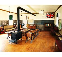 No. 14 Schoolhouse (Petrolia Discovery) Photographic Print