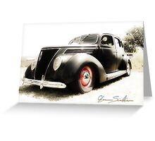 Hot 39 Ford Five Window Greeting Card