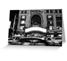 paramount building new york city Greeting Card