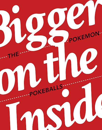Bigger on the Inside POKEMON by zerobriant