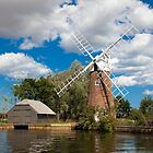 Norfolk Broads Windmill by Imaginato