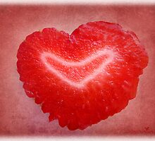 Strawberry love by Olga