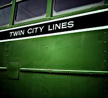 Twin City Lines (Green) by tjdewey