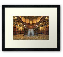 Rotunda Stairs (State Capitol Building, Denver, Colorado) Framed Print