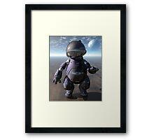 Astro Kat Framed Print