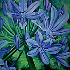 Agapanthus by Martha Mitchell
