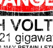 1.21 gigawatts! Sticker