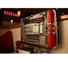 American diner jukebox Photographic Print