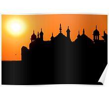 Varanasi Sunset Poster